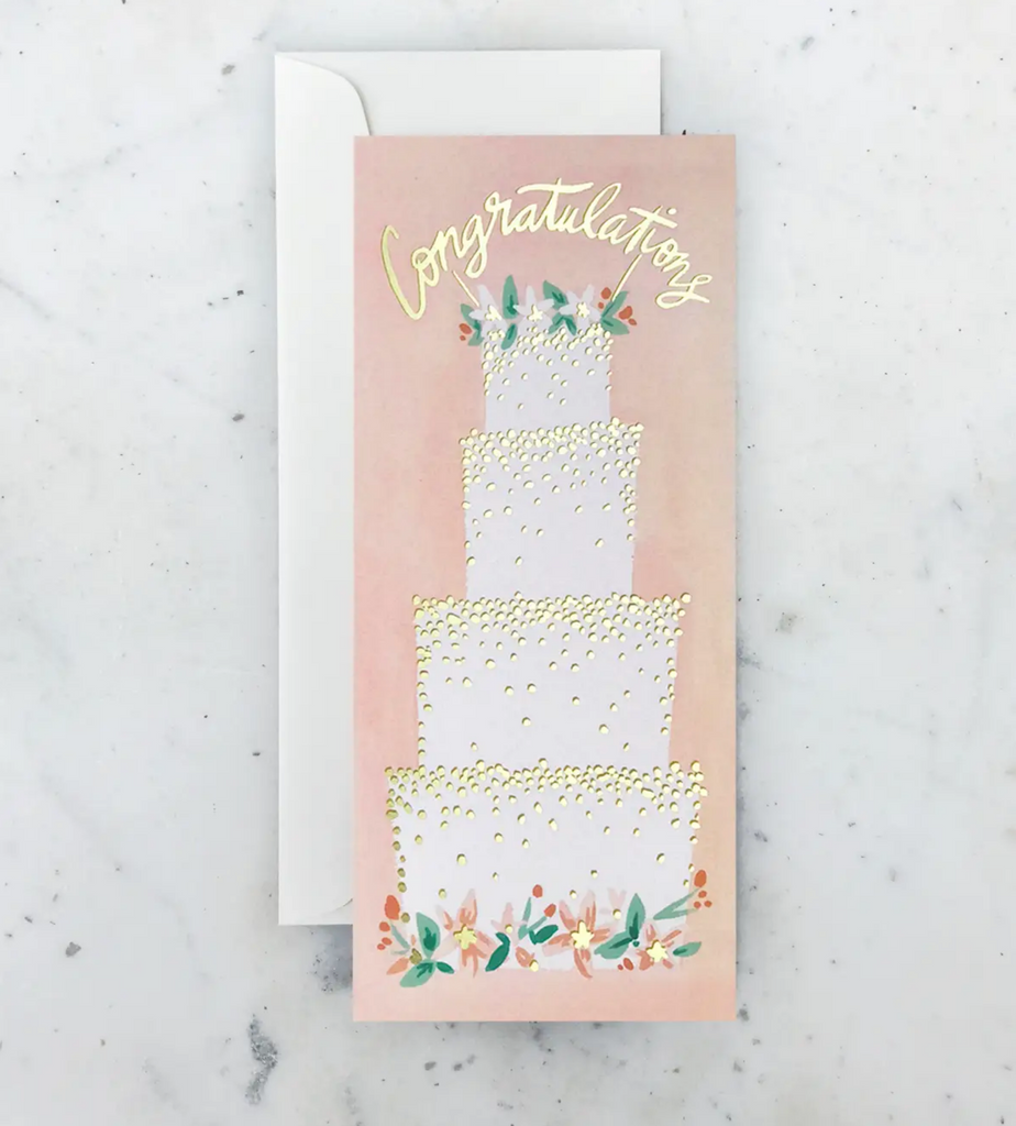 Wedding Cake (Money) Card