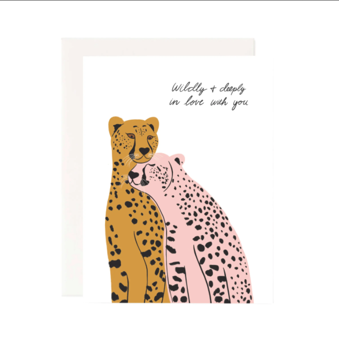 Wildly In Love Greeting Card