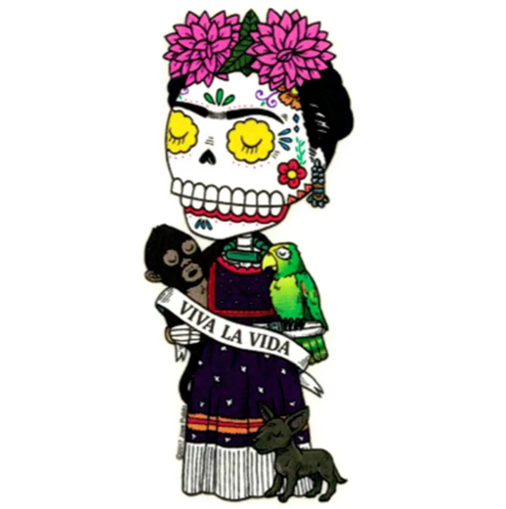 Viva la Frida Die Cut Vinyl Sticker