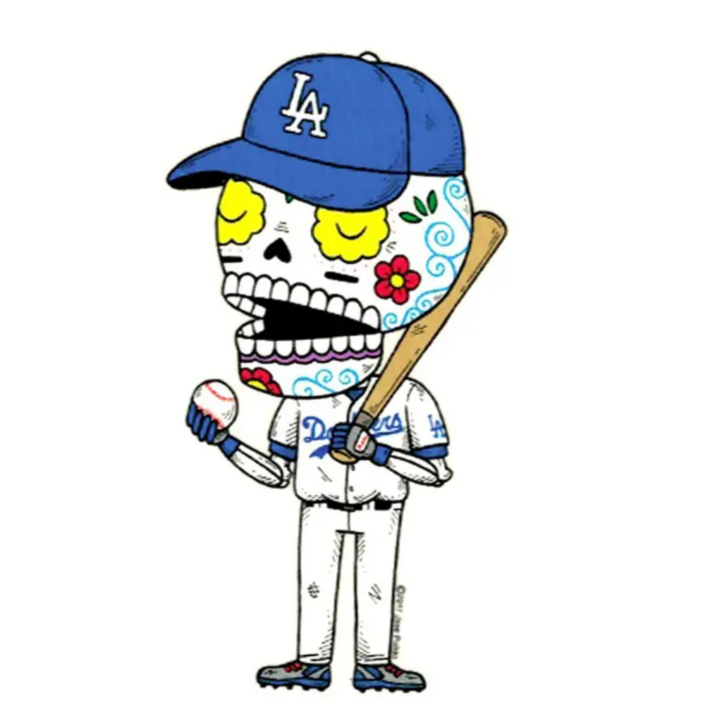 LA Dodgers Vinyl Sticker