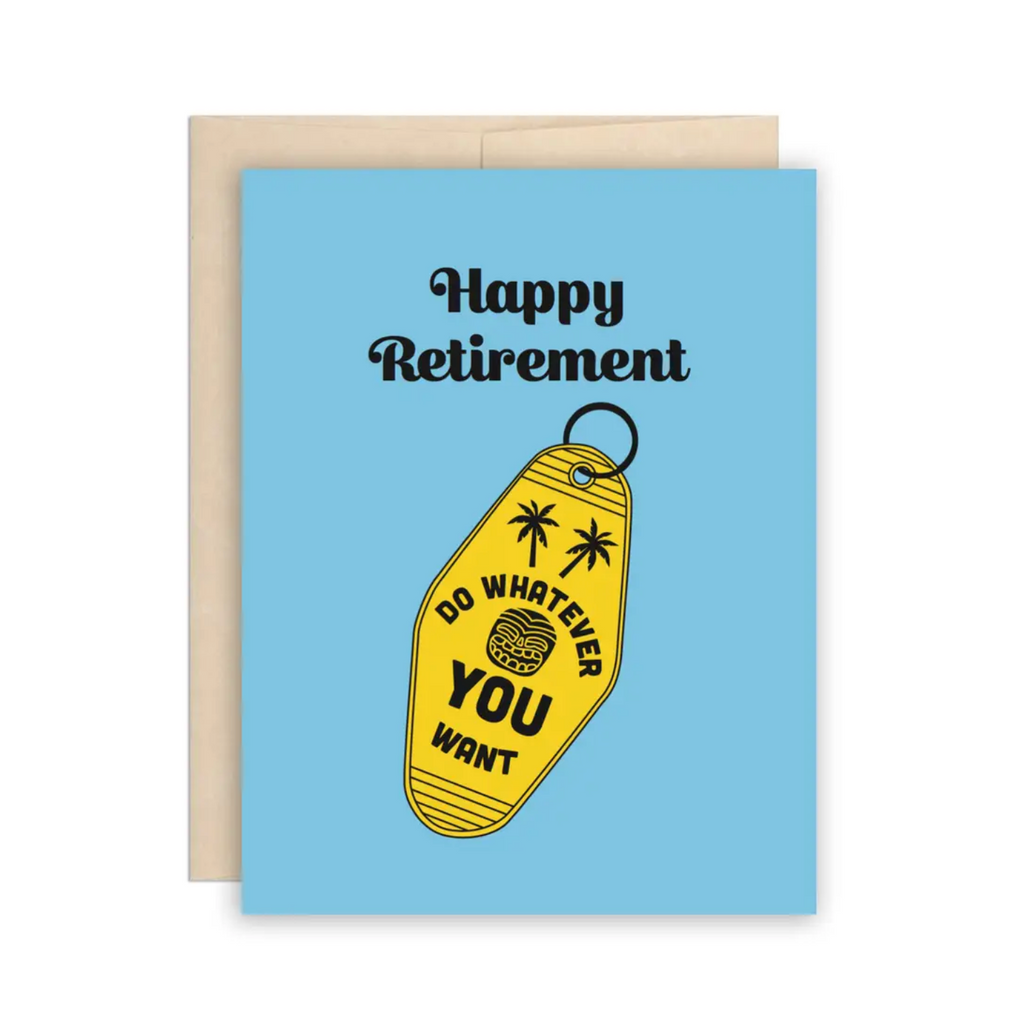 Funny Retirement Card, Keys to Freedom Retirement Card