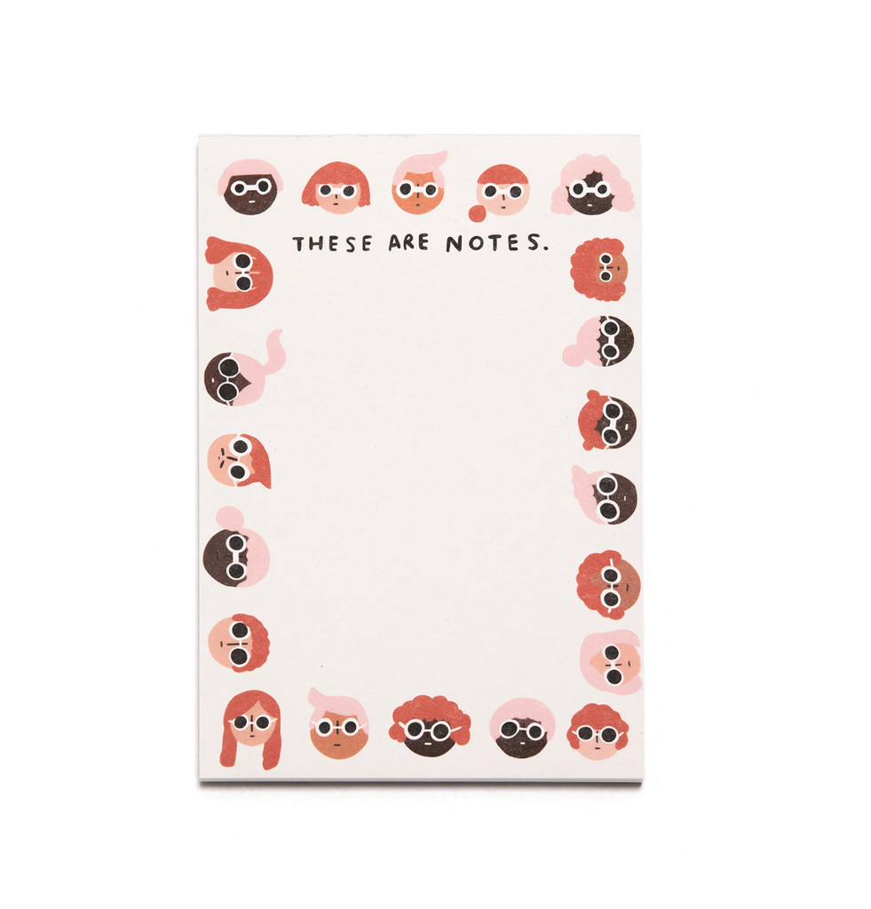 Faces - Note Pad