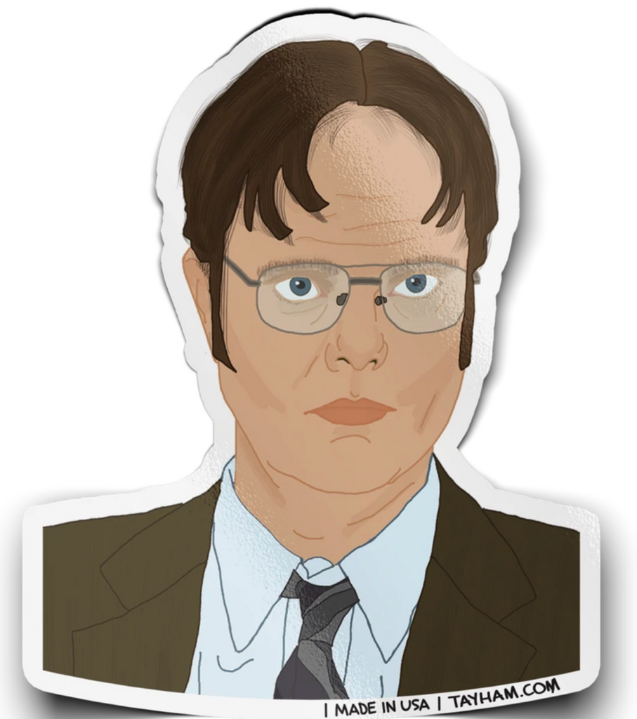 Dwight Sticker