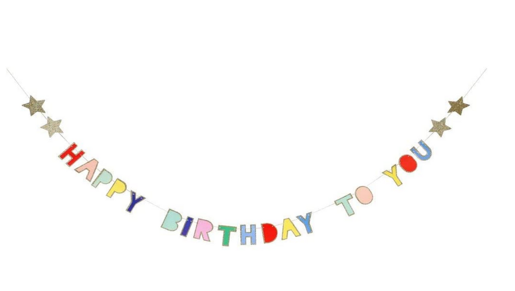Birthday Garland Banner