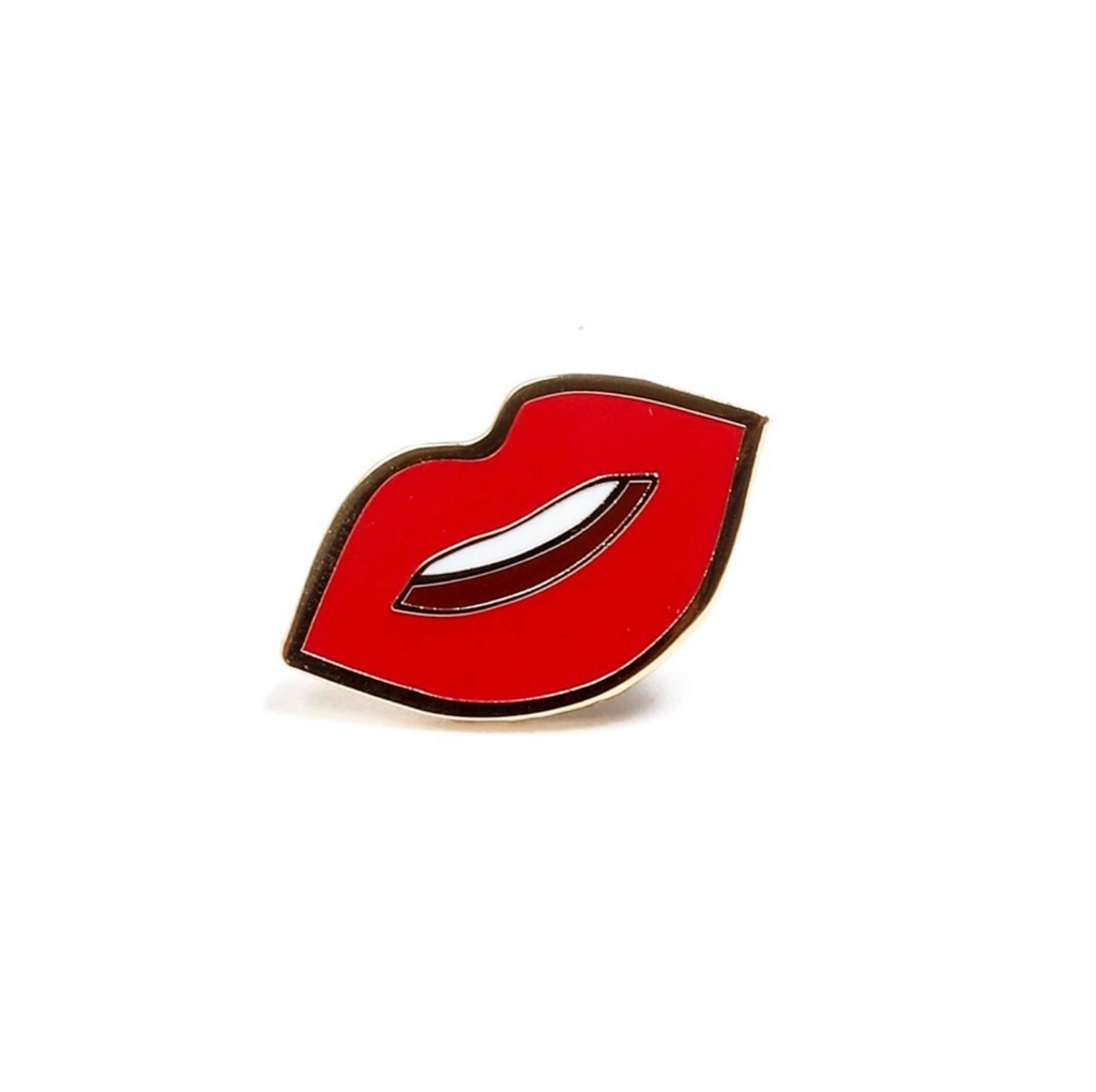 Kiss Kiss Lips - Enamel Pin