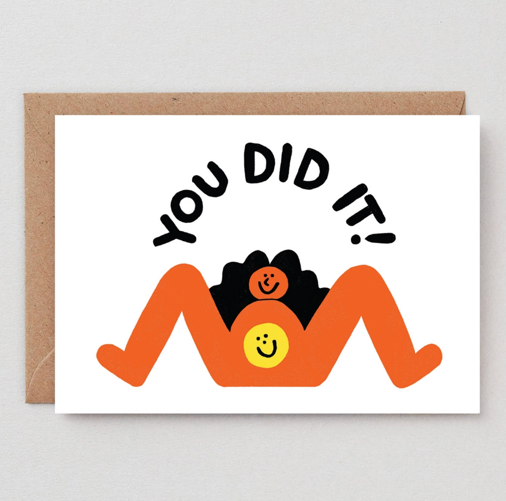 You Did It - Greeting Card