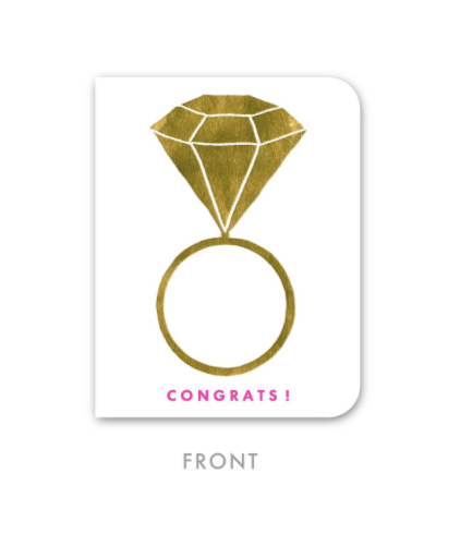 Congrats! - Foil Greeting Card