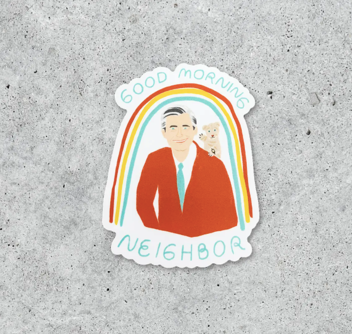 Mr. Rogers Vinyl Sticker