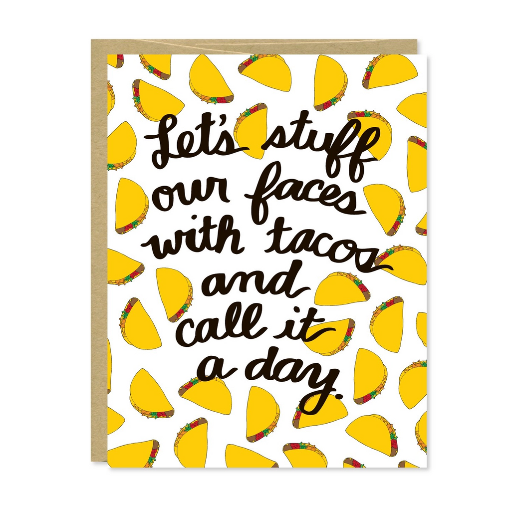 Let's Eat Tacos Card