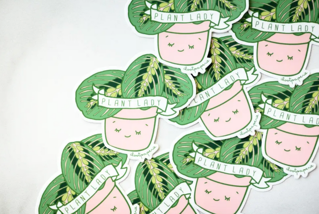 Plant Lady Sticker - Pack of 3