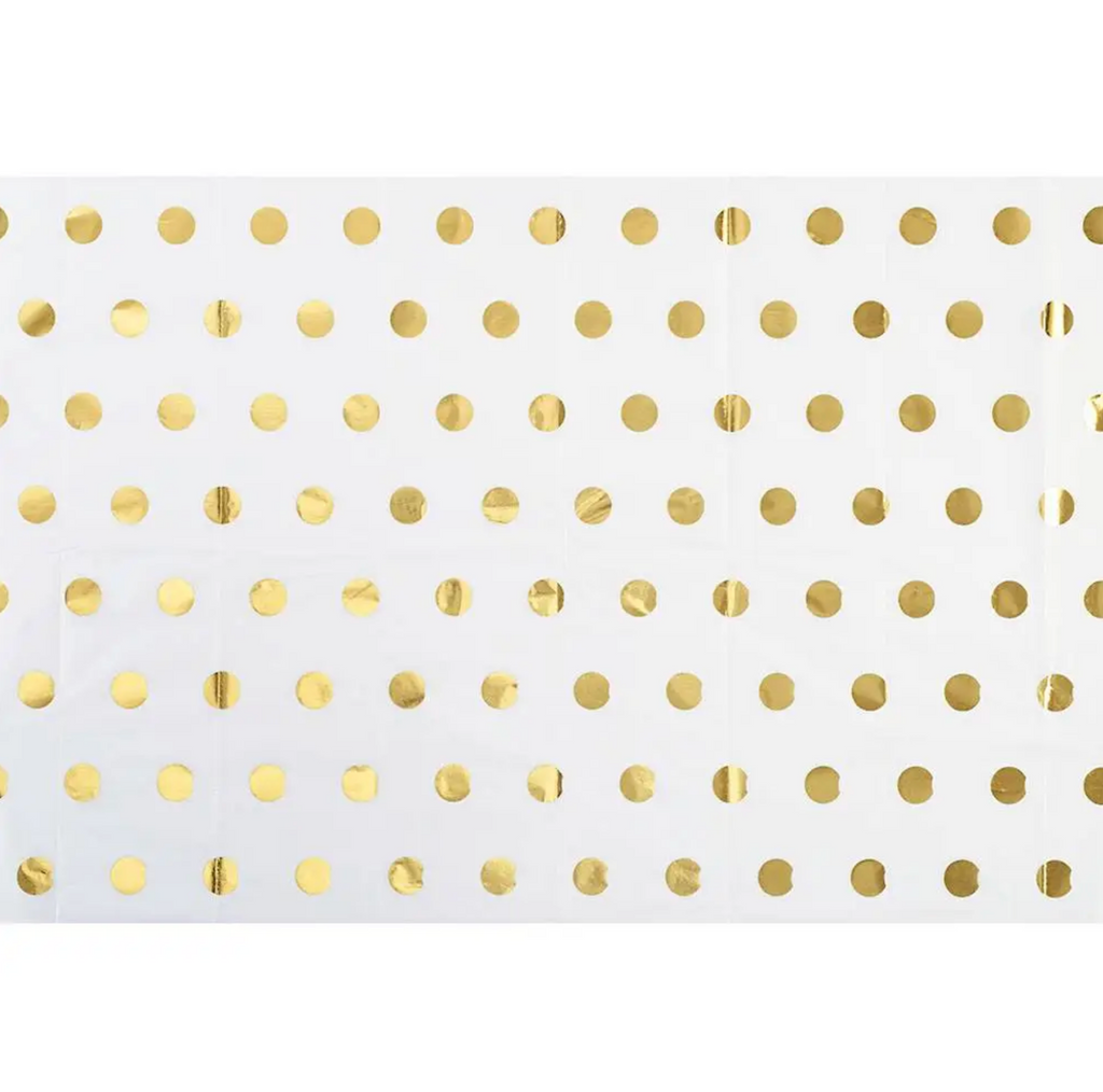 Gold Polka Dot - Tissue Paper