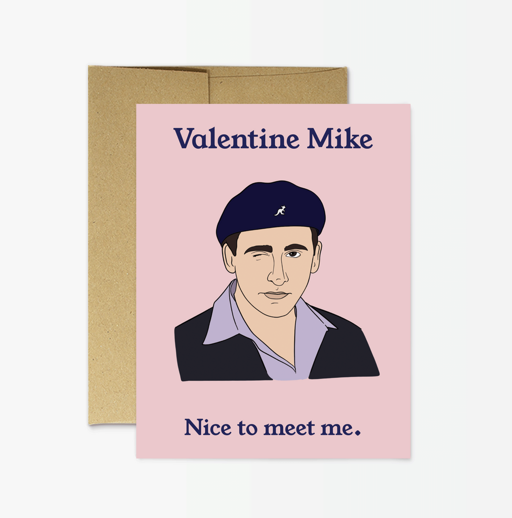 Valentine Mike Card