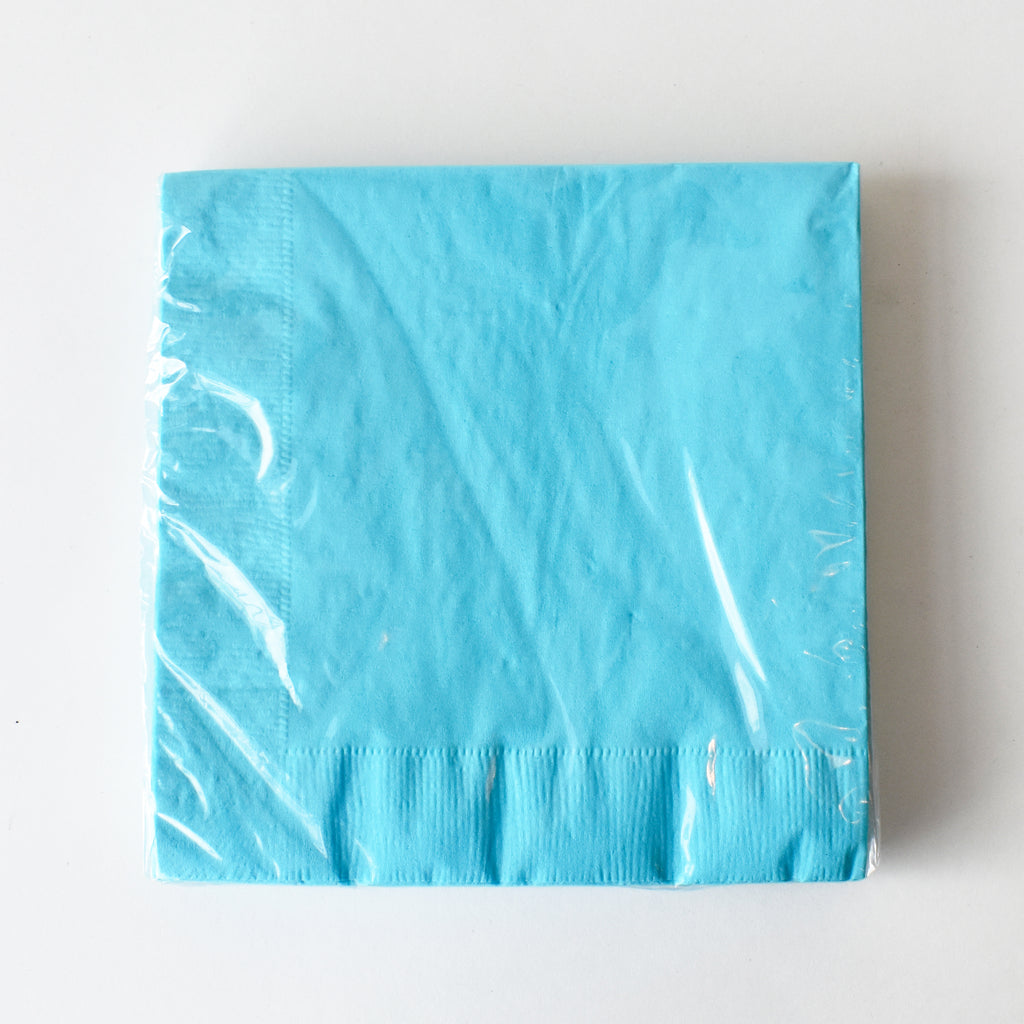 Blue Large Party Napkins