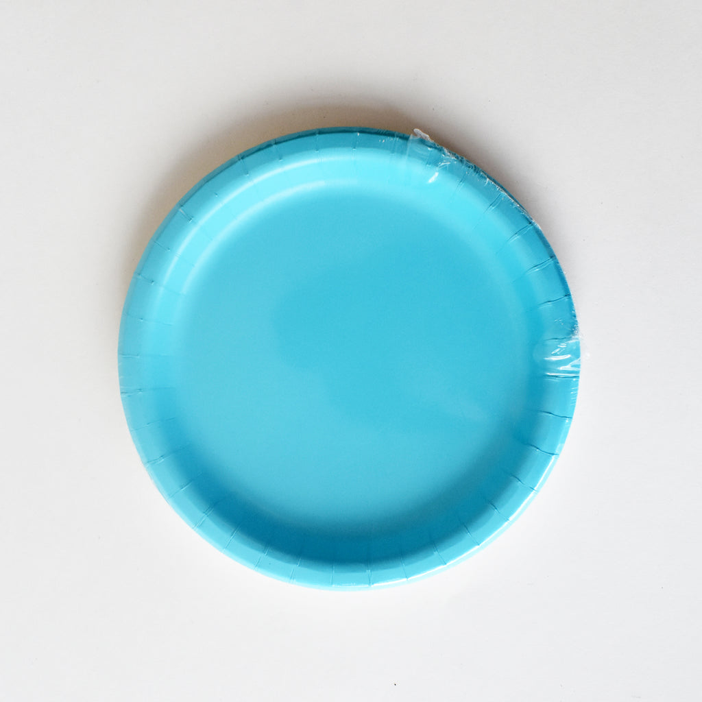 Blue 7-inch Party Paper Plates