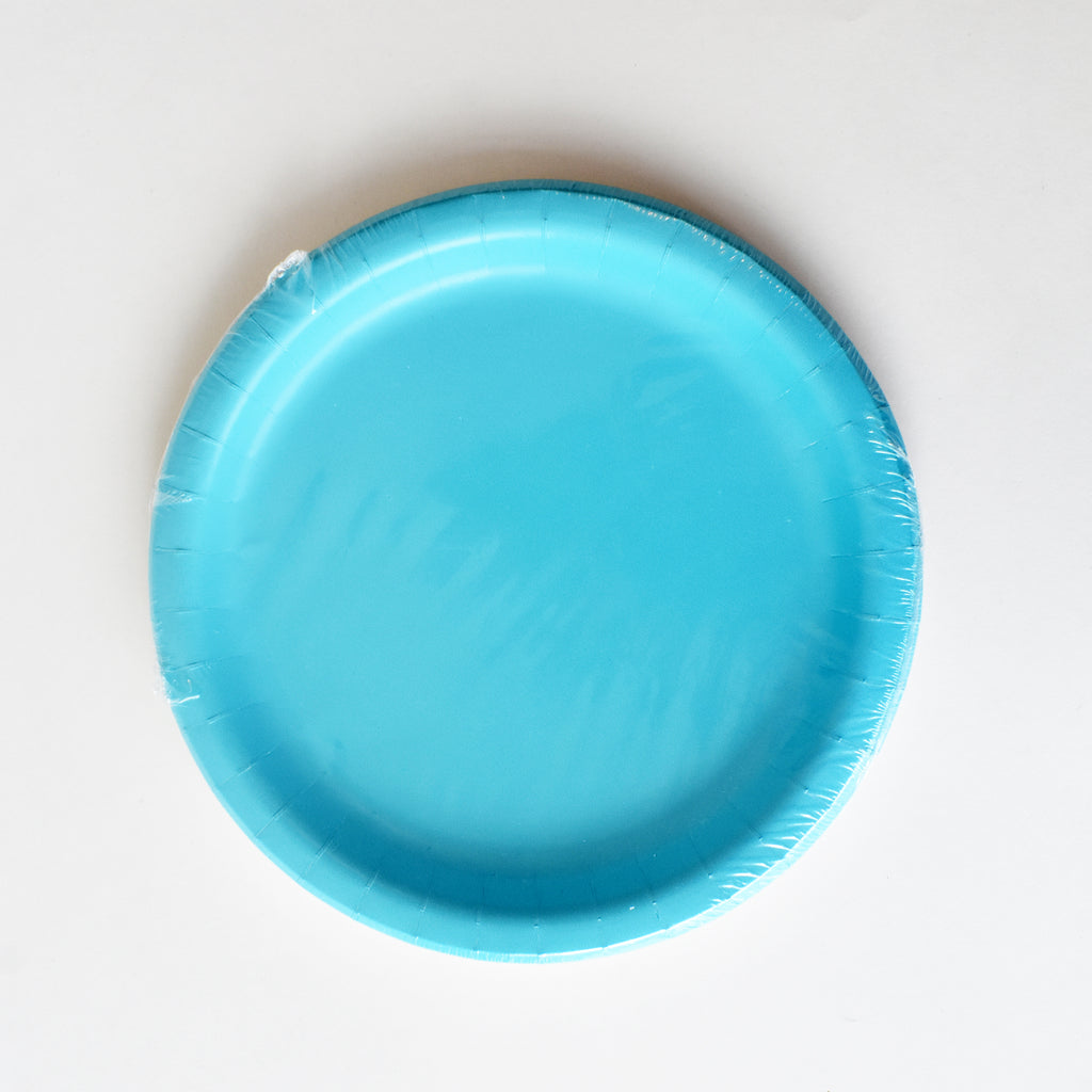 Blue 9-inch Party Paper Plates