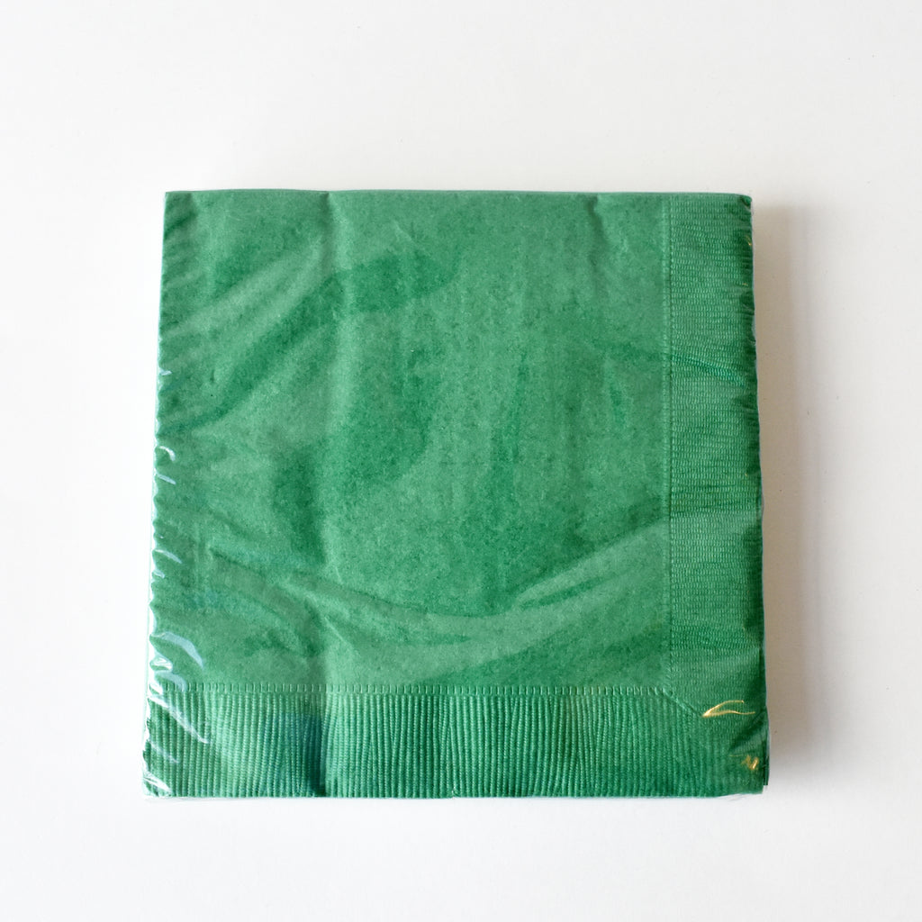 Green Large Party Napkins