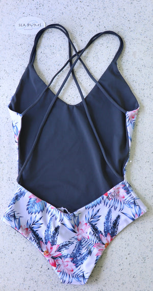 CHEEKY REVERSIBLE ONE-PIECE - PARADISE