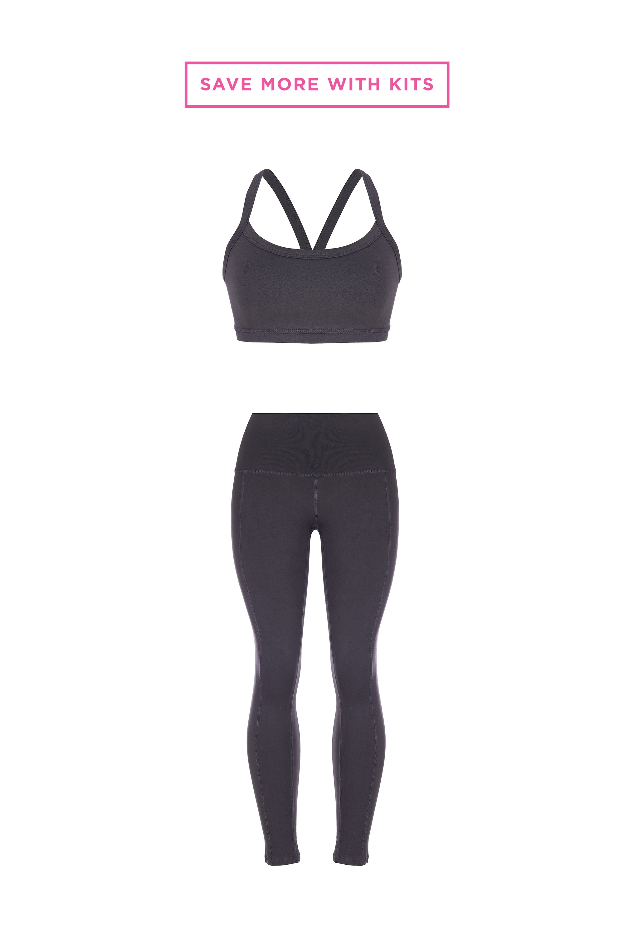 Slate Bra + Legging Kit