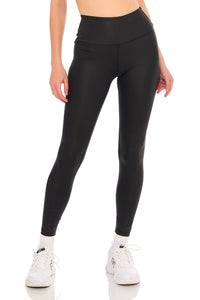 Load image into Gallery viewer, Black Shine YOS Sport Leggings
