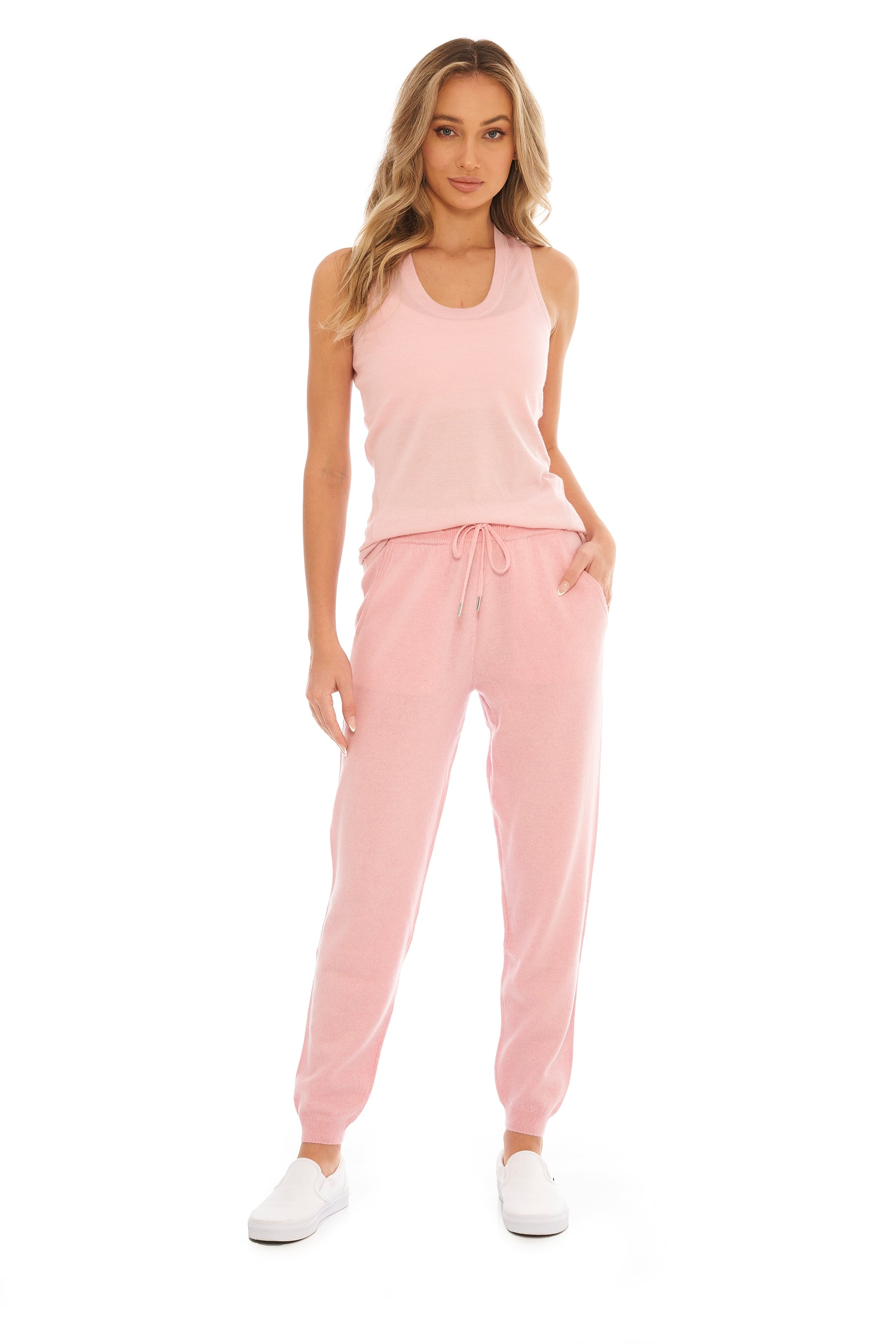 Bubblegum Cashmere Tank Top