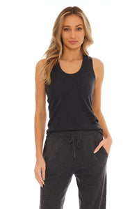 Load image into Gallery viewer, Slate Cashmere Tank Top