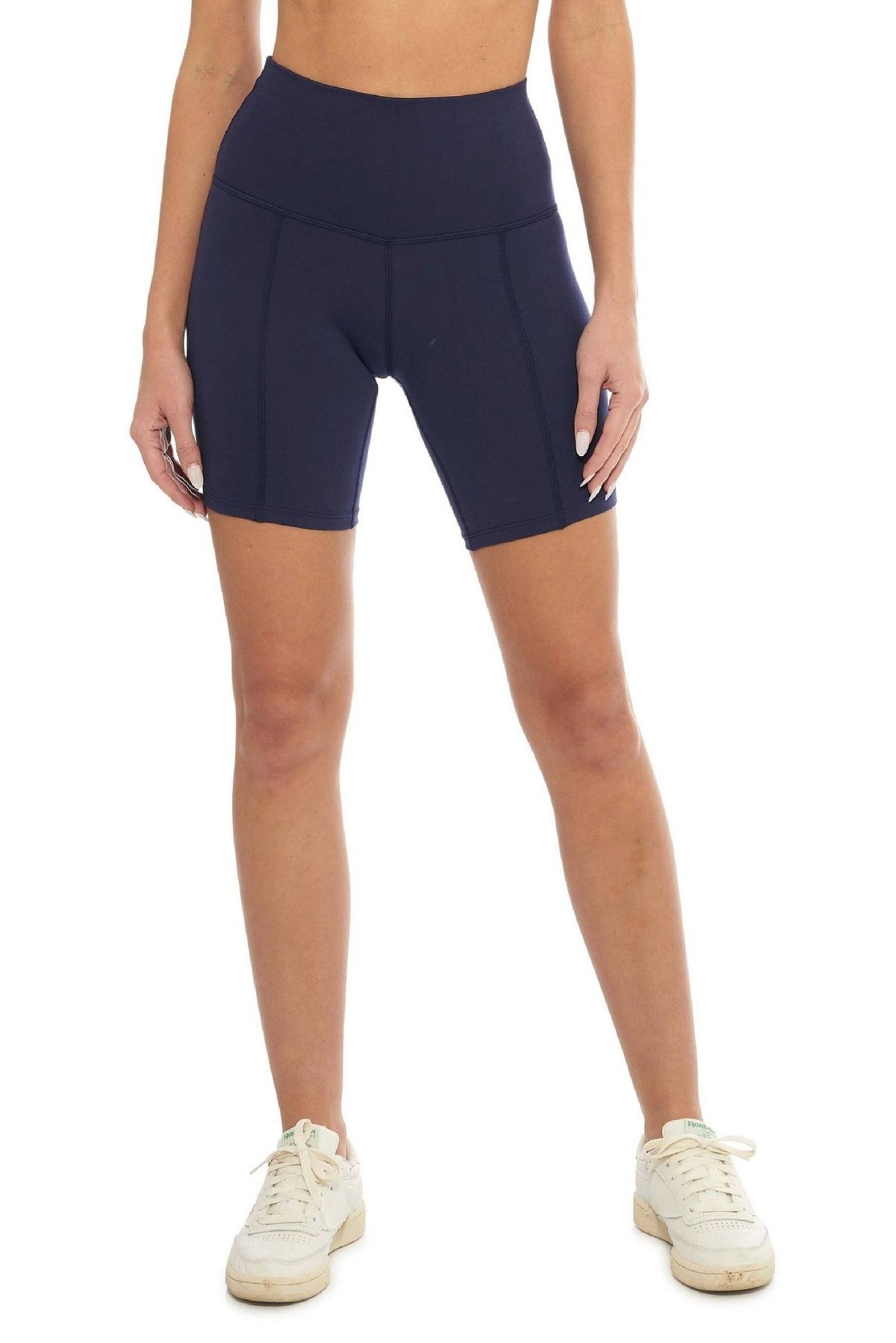 Midnight Blue Biker Short