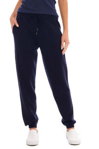 Load image into Gallery viewer, Midnight Blue Cashmere Jogger