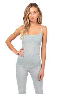 Load image into Gallery viewer, Dusty Denim Tank Top