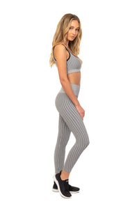 Load image into Gallery viewer, Noir Houndstooth Legging