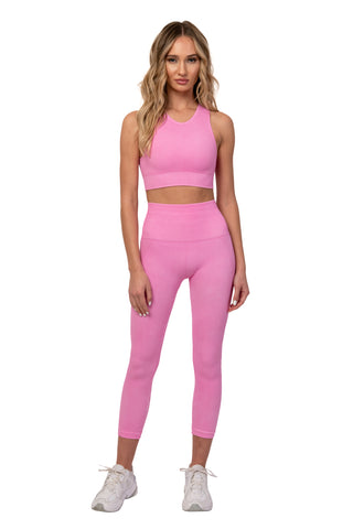 Party Pink Sports Bra