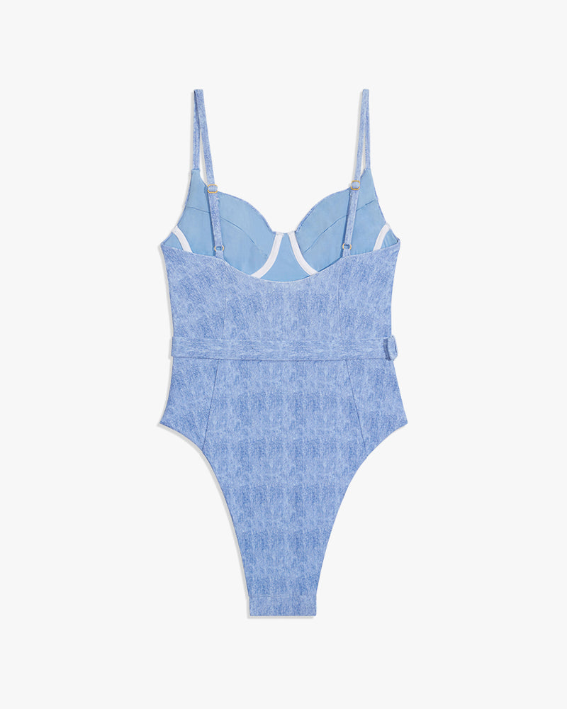 Danielle one piece (Light Wash)