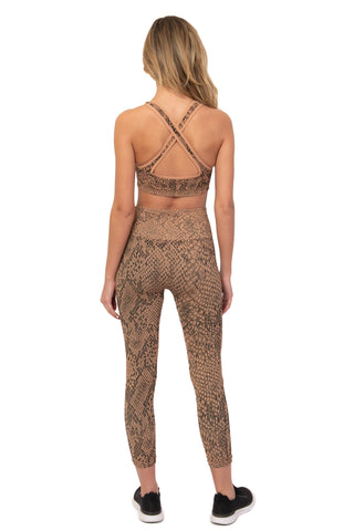 Copperhead Snake Skin Legging