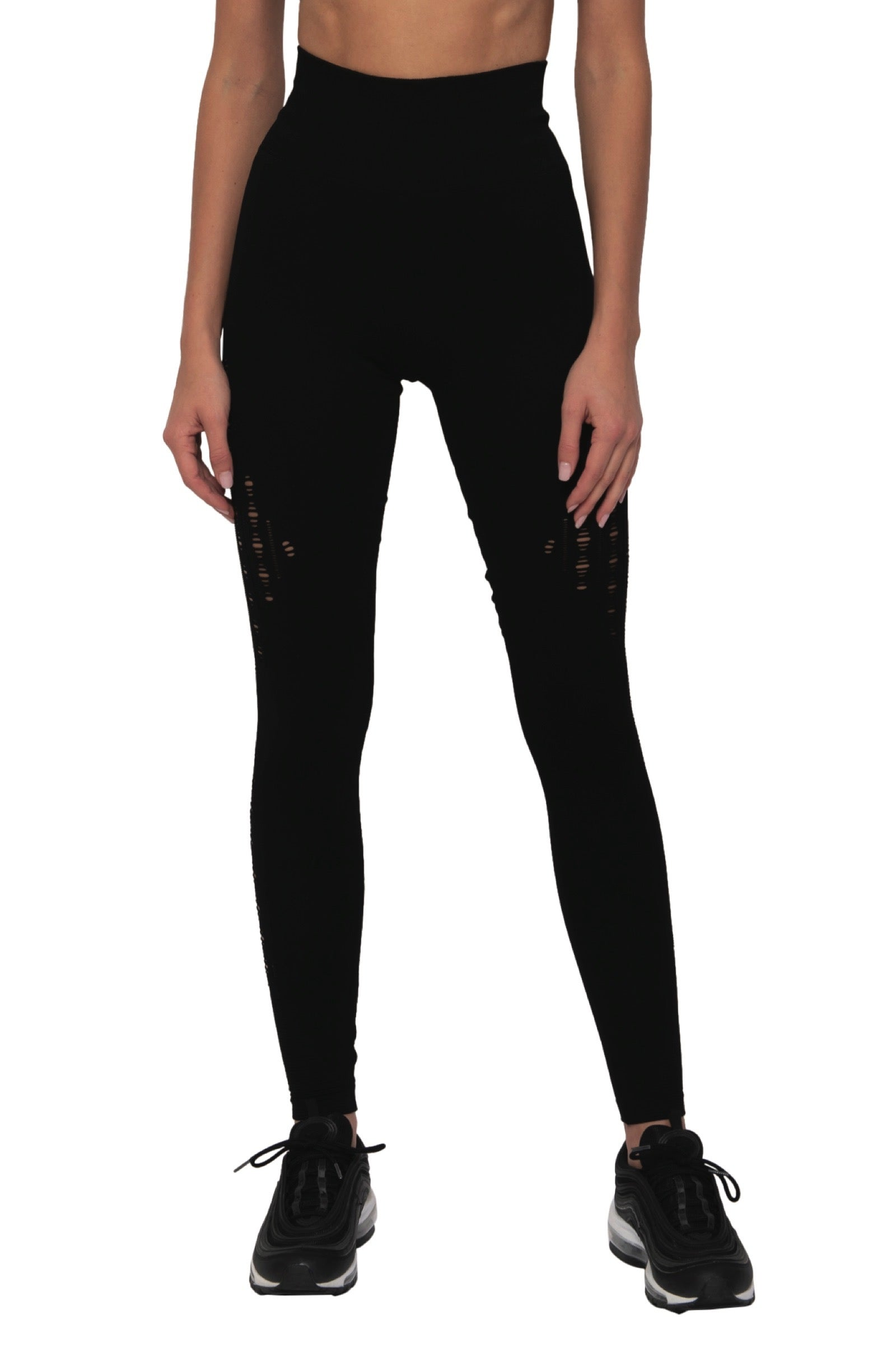 Triple Threat Legging (Black)