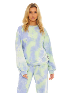 Load image into Gallery viewer, Xander Sweater- Sky Tie Dye