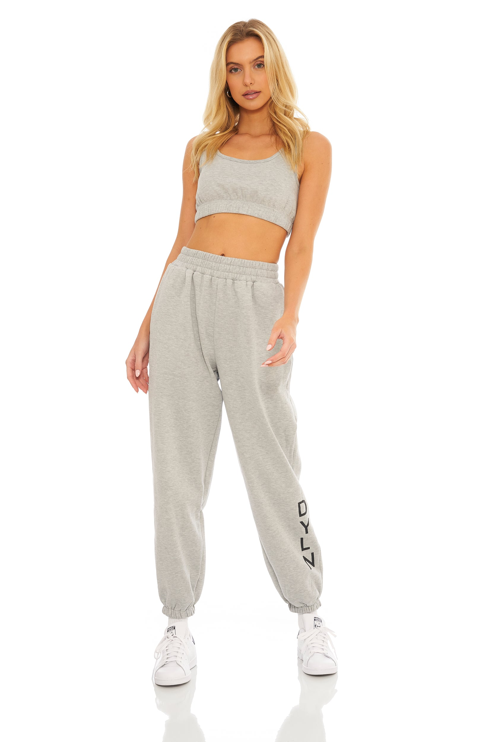 Hudson Trackpants- Grey Marle
