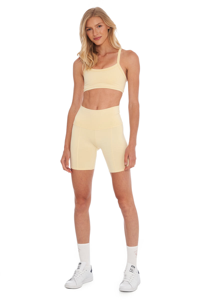 Buttercream Biker Short