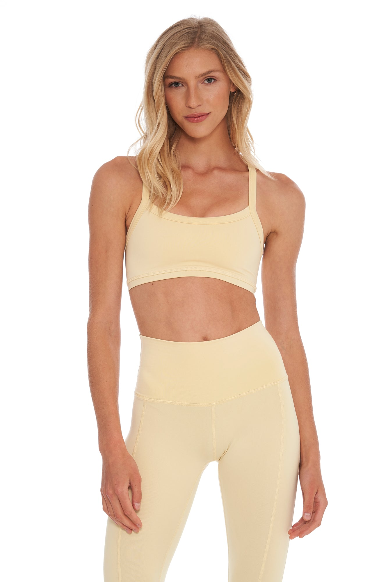Buttercream Sports Bra