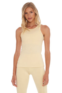 Load image into Gallery viewer, Buttercream Ribbed Tank Top