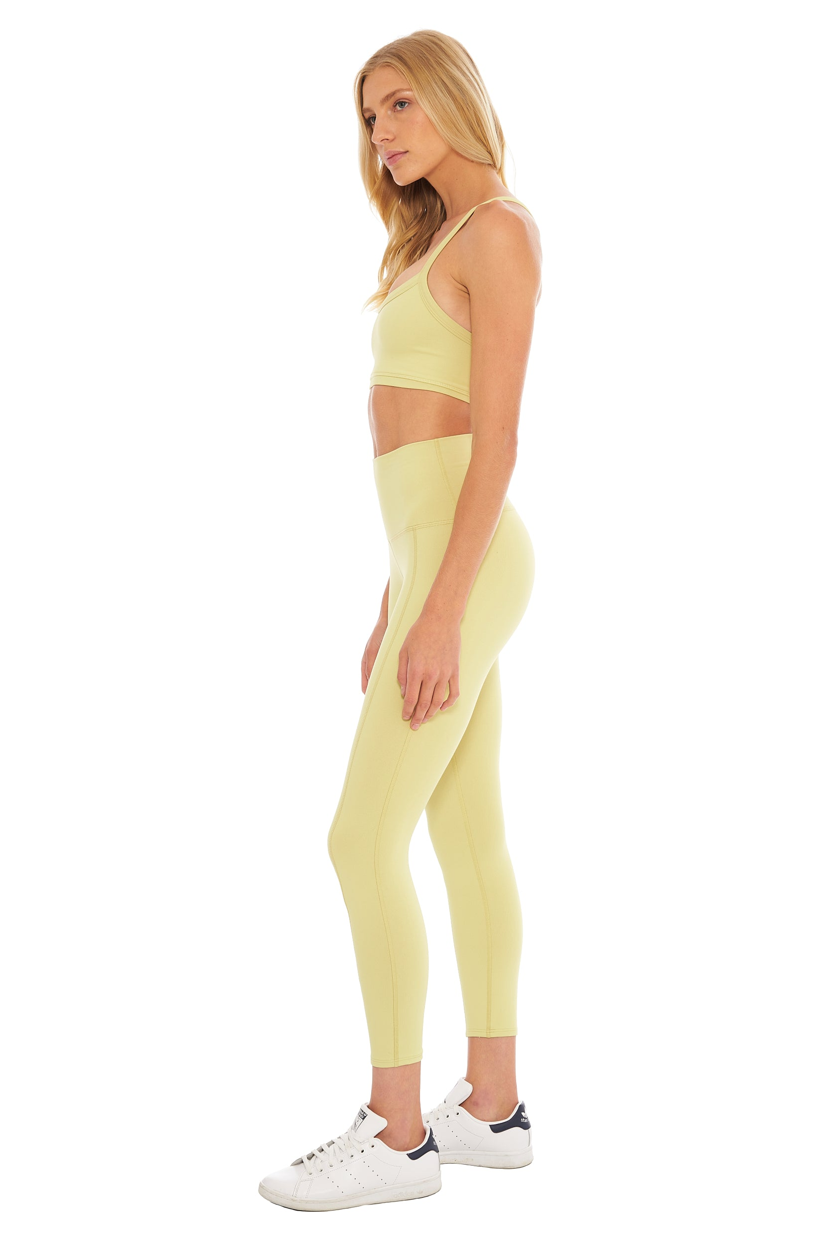 Lemon Lime Sports Bra