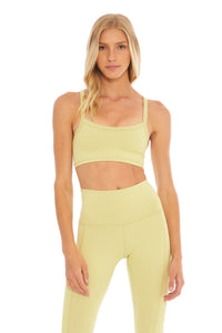Load image into Gallery viewer, Lemon Lime Sports Bra