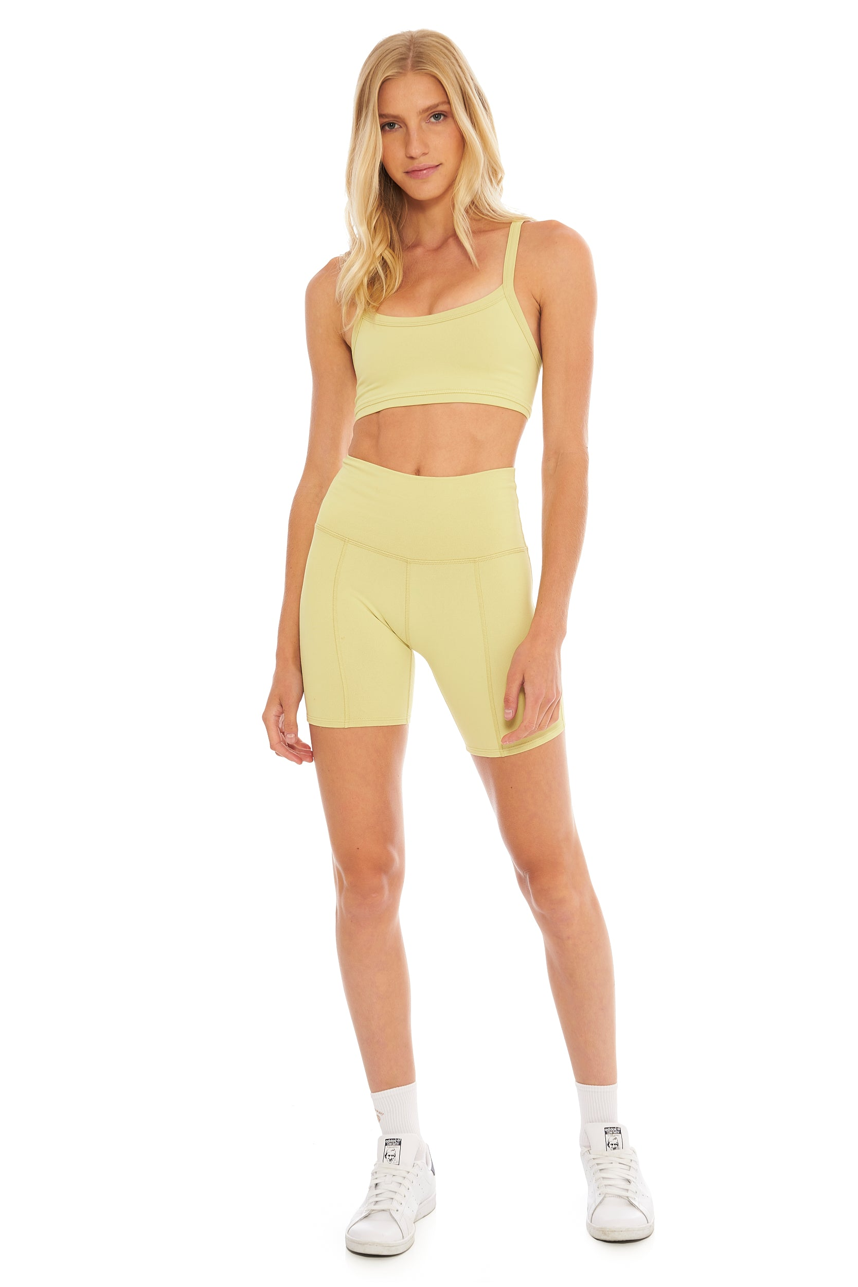 Lemon Lime Biker Short