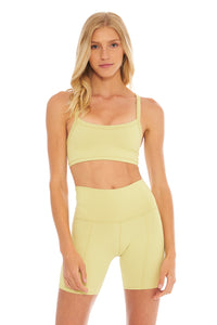 Load image into Gallery viewer, Lemon Lime Biker Short