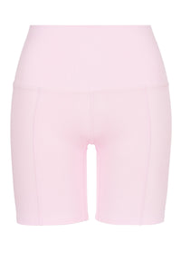 Load image into Gallery viewer, Bubblegum Long Sleeve Polo + Biker Shorts Kit