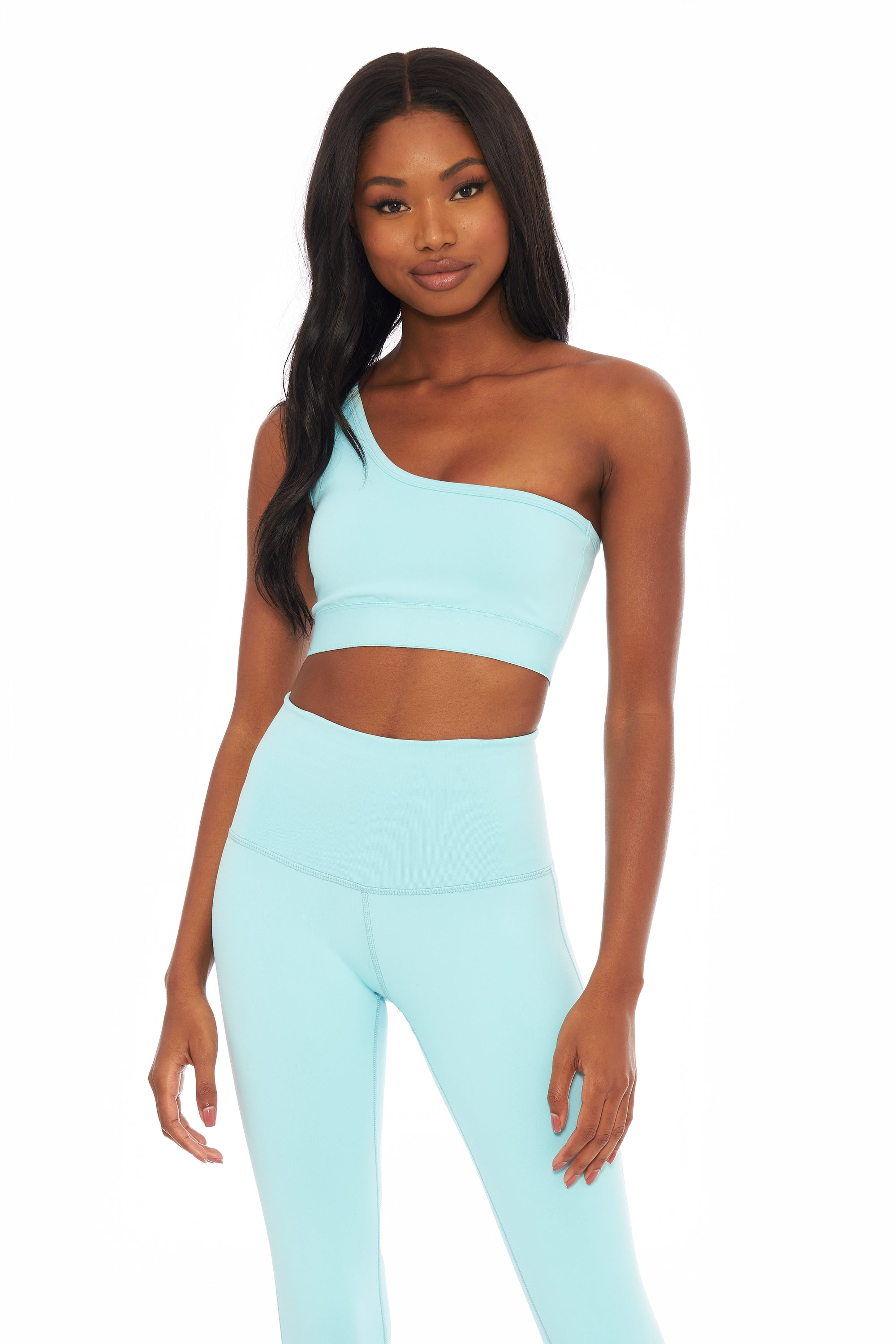 Ocean One Shoulder Bra