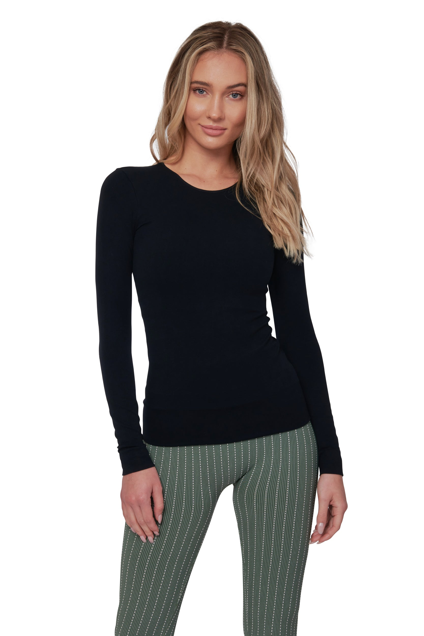 Classic Black Long Sleeve