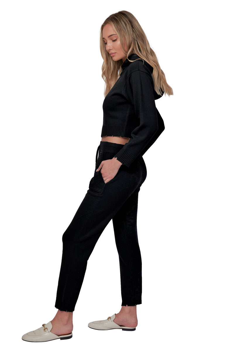 Onyx Cashmere Joggers
