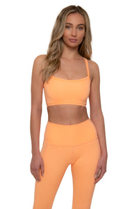 Load image into Gallery viewer, Cantaloupe Sports Bra