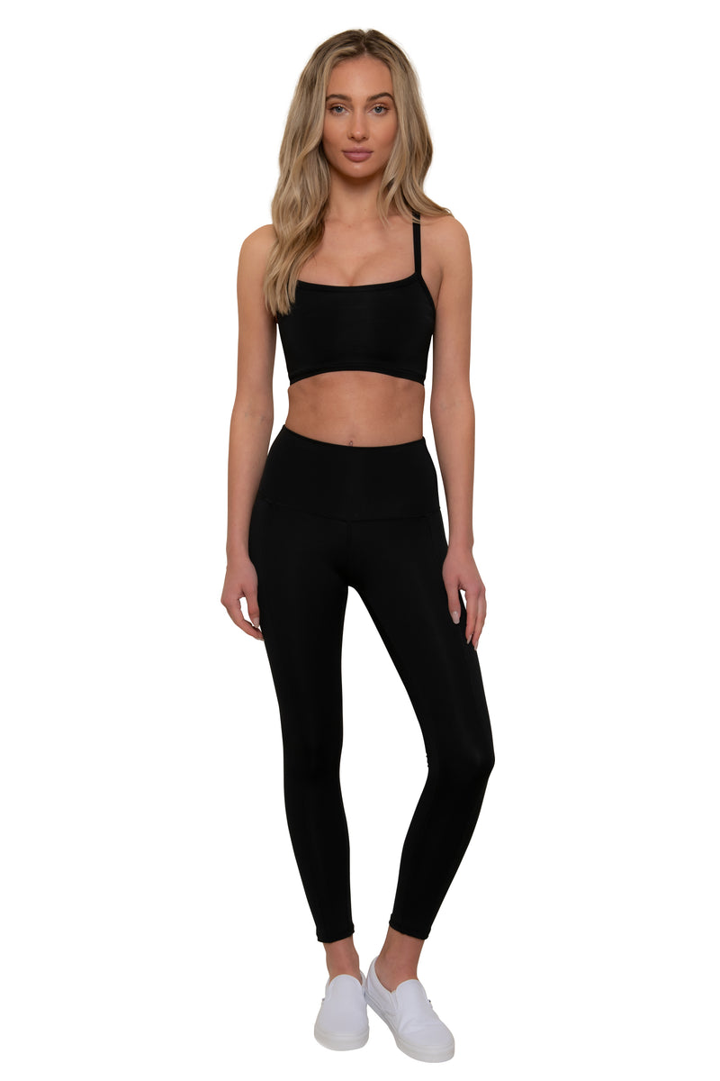 Pitch Black Sports Bra