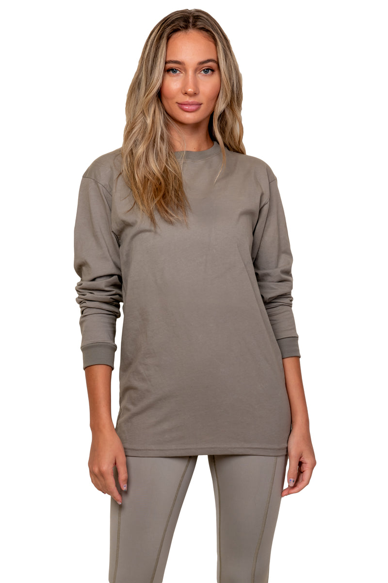 Simply Taupe Logo Long Sleeve