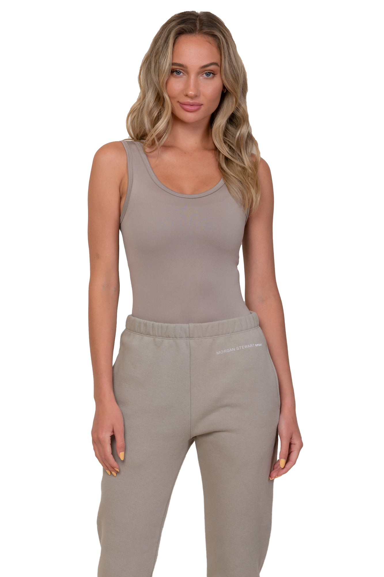 Simply Taupe Tank Top
